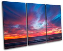 Pacific Ocean Sunset Seascape - 13-0615(00B)-TR32-LO